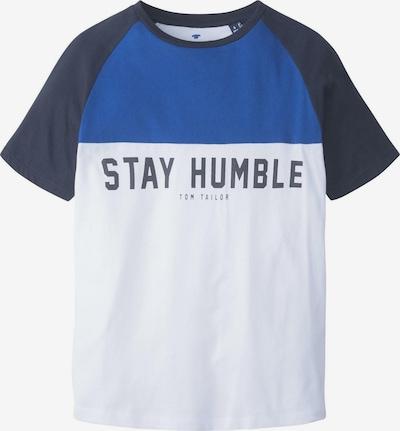 TOM TAILOR T-Shirt T-Shirt mit Print in weiß, Produktansicht