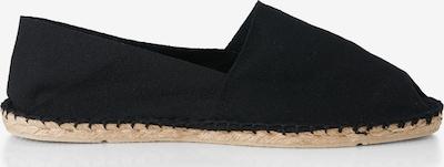 Espadrillas espadrij l´originale di colore nero: Vista laterale