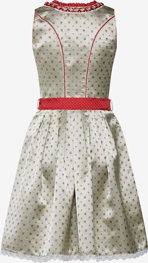 Rochițe tiroleze 'Netta' MARJO pe gri / roșu: Privire spate