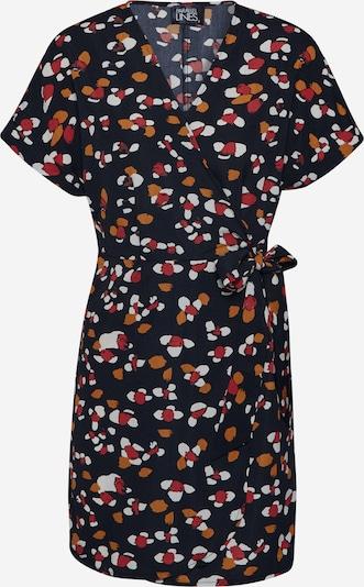 Rochie de vară 'PL0185' Parallel Lines pe negru, Vizualizare produs