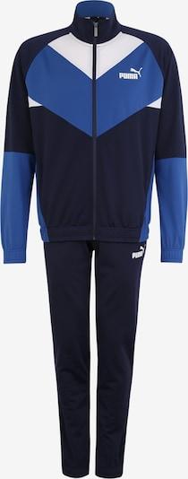 PUMA Sportanzug 'Retro' in nachtblau / royalblau / weiß, Produktansicht