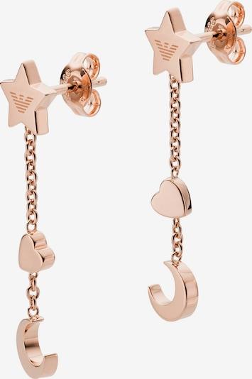 Emporio Armani Ohrhänger in rosegold, Produktansicht