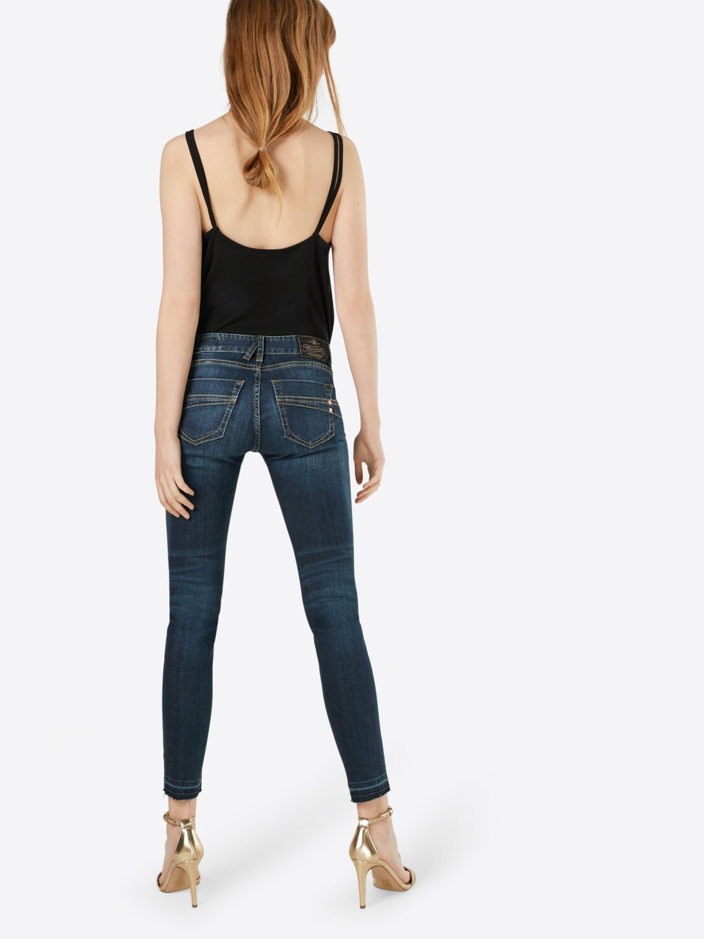 Herrlicher 'Touch Cropped Denim Powerstretch' Slimfit Jeans Auslass Fälschen 6TOE8