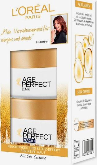 L'Oréal Paris 'Age Perfect Tag und Nacht', Gesichtspflege-Set in gold / weiß, Produktansicht
