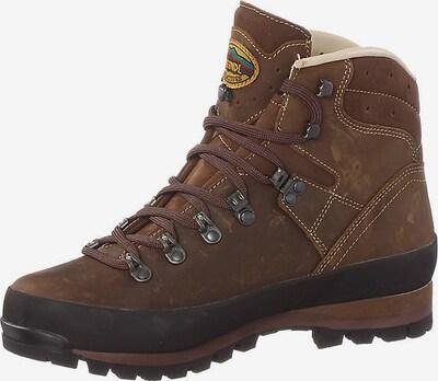MEINDL Schuhe 'Borneo II' in braun / schwarz, Produktansicht