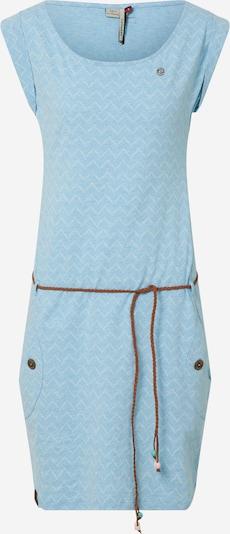 Ragwear Kleid in hellblau / offwhite: Frontalansicht