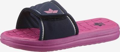 LICO Pantolette 'BARRACUDA' in blau / pink, Produktansicht