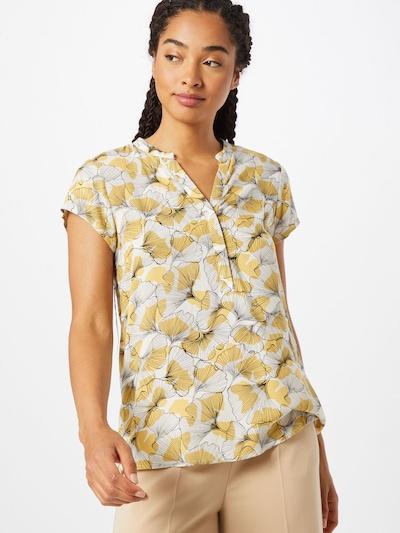 Soyaconcept Bluse 'Igitze 1' in gelb / schwarz / weiß, Modelansicht