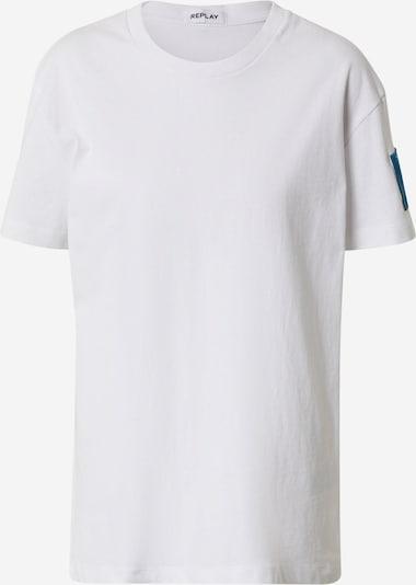 REPLAY Shirt in de kleur Gemengde kleuren / Wit, Productweergave