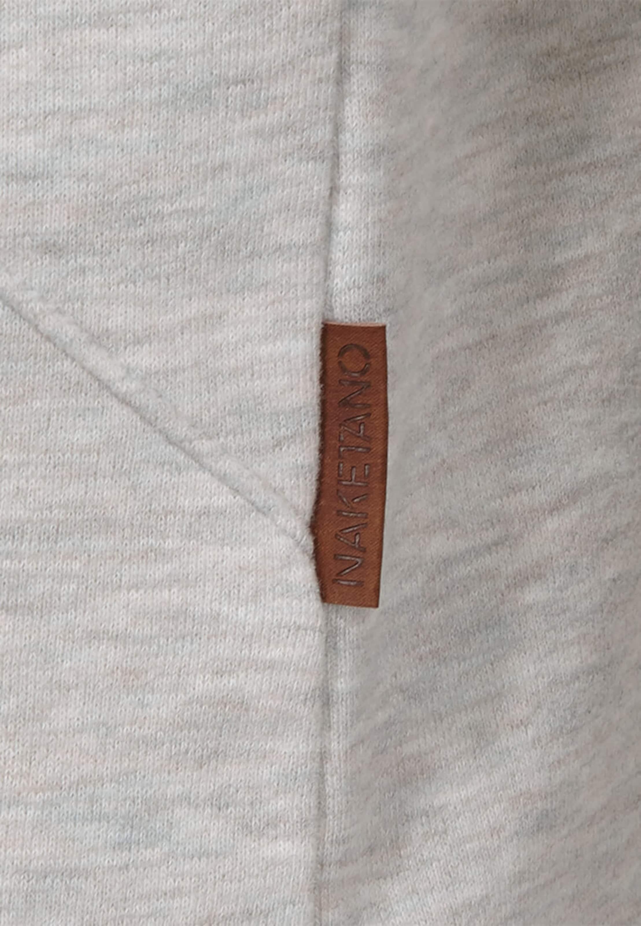 'lennox' En Sweat shirt Naketano Clair Gris wmn08N