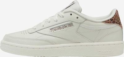Reebok Classic Sneaker in braun / schwarz / weiß, Produktansicht