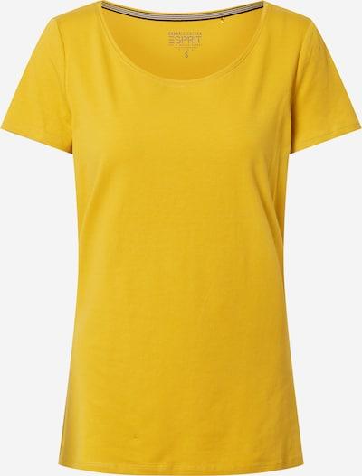 Tricou 'Noos' ESPRIT pe galben auriu: Privire frontală