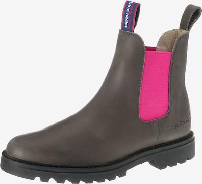 Blue Heeler Chelsea Boots 'Meryl' in himmelblau / greige / dunkelgrau / neonpink / rot / weiß, Produktansicht