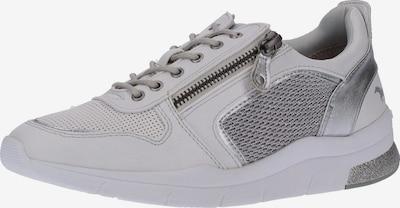 MUSTANG Sneaker in silber / weiß, Produktansicht