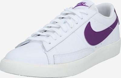 Nike Sportswear Sneaker 'Blazer' in lila / weiß, Produktansicht
