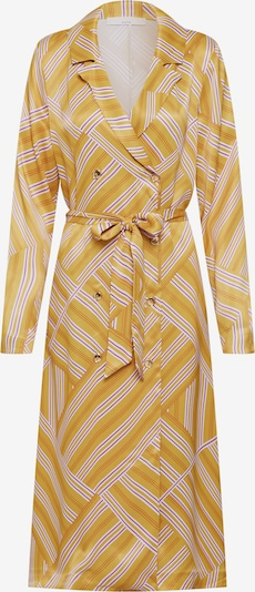POSTYR Kleid in senf / helllila / weiß, Produktansicht
