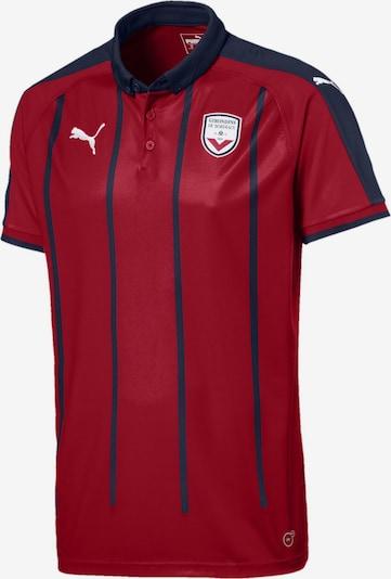 PUMA T-Shirt fonctionnel 'Girondins de Bordeaux' en bleu foncé / rouge, Vue avec produit