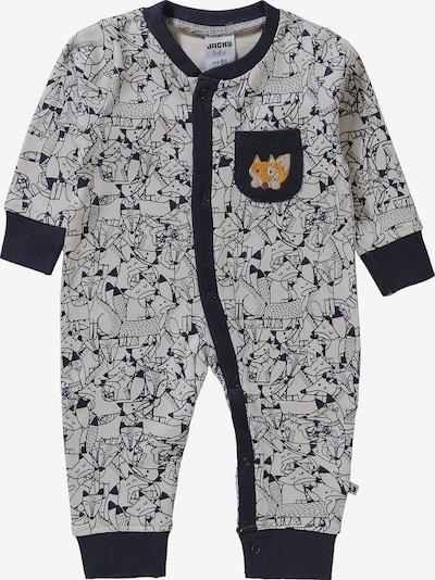 JACKY Schlafanzug in blau / navy / weiß, Produktansicht