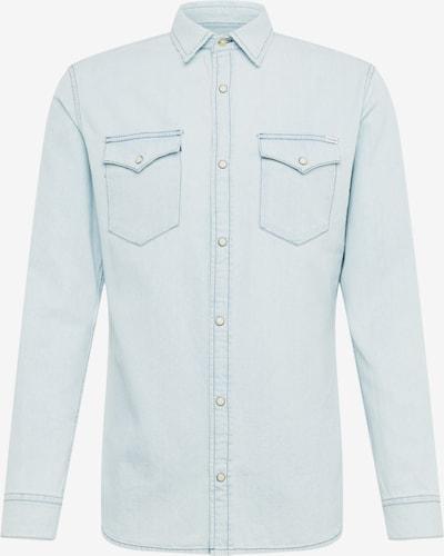 JACK & JONES Hemd 'JJESHERIDAN SHIRT L/S NOOS' in blue denim, Produktansicht