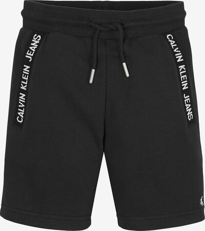 Calvin Klein Jeans Shorts in schwarz / weiß, Produktansicht