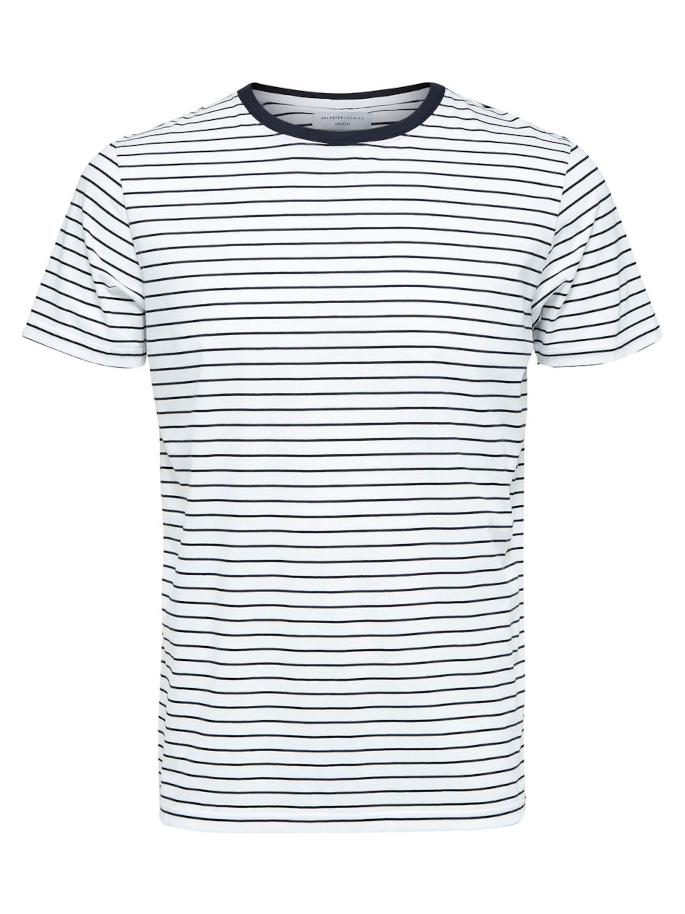 SELECTED HOMME Gestreiftes T-Shirt Spielraum Großer Verkauf Spielraum Online Amazon Neue Version Wo Zu Kaufen 5V5F0TL