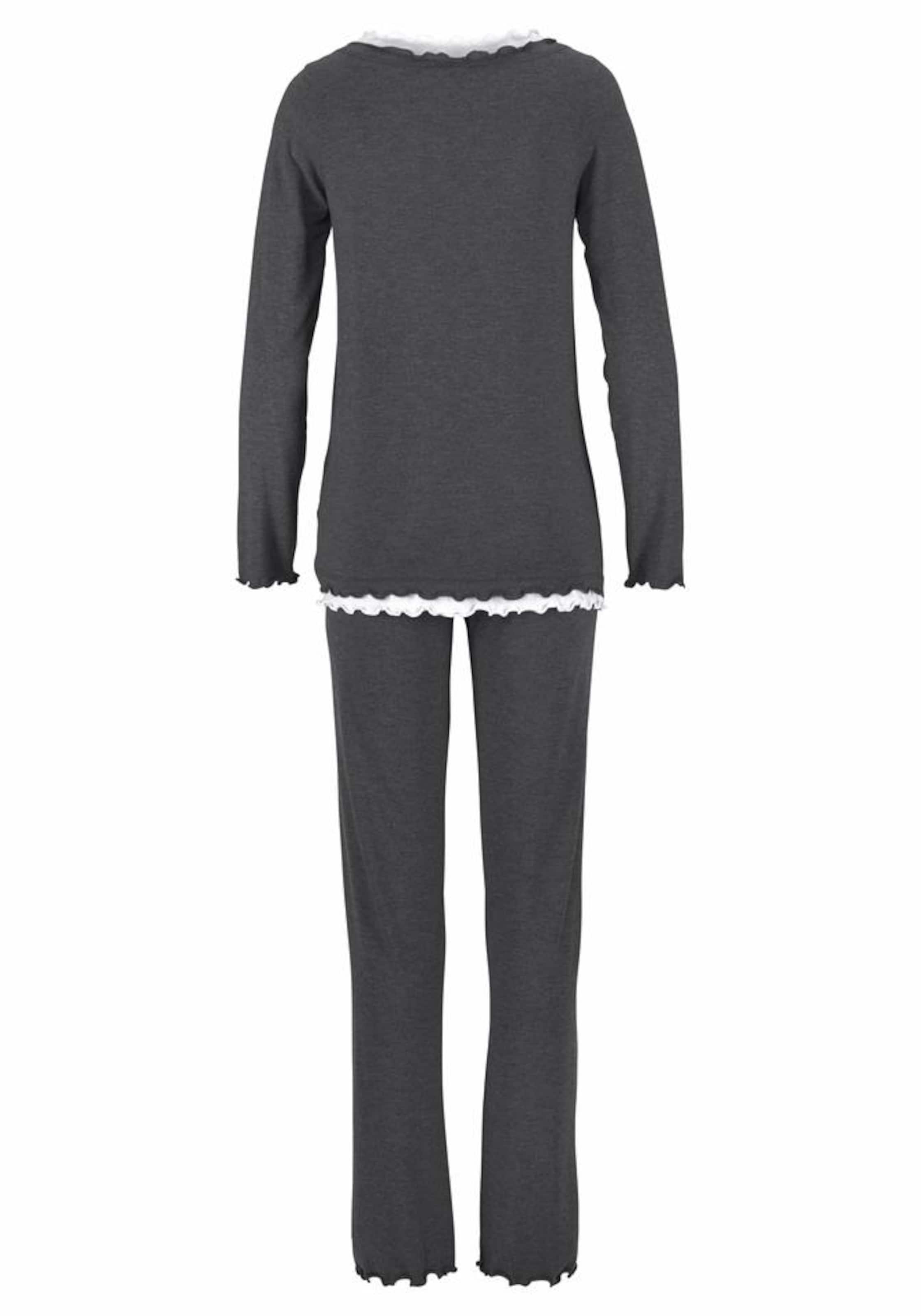 GrauWeiß Lascana Pyjama Lascana Pyjama In OPkNZnw80X