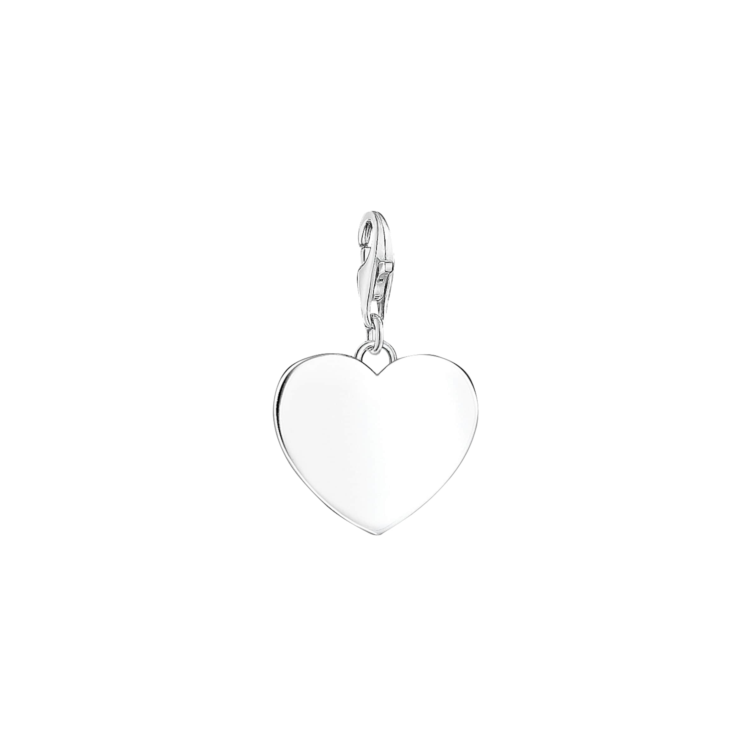 In Charm anhänger 'herz' Thomas Sabo Silber bf76gy
