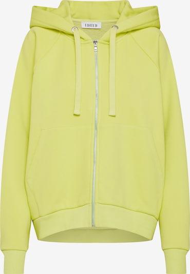 EDITED Mikina s kapucí 'Liam' - svítivě žlutá, Produkt