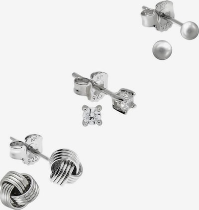 FIRETTI Ohrring-Set in silber, Produktansicht