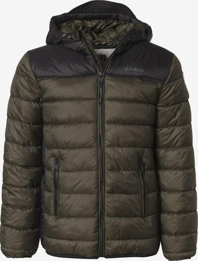 Garcia Jeans Winterjacke in dunkelblau / khaki, Produktansicht