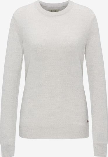 MUSTANG Sweater ' Feinstrickpullover ' in hellgrau, Produktansicht