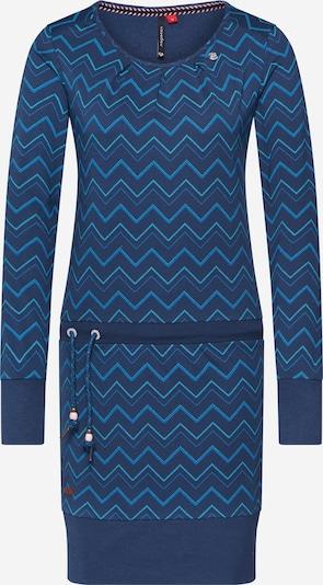 Ragwear Sukienka 'ALEXA ZIG ZAG' w kolorze niebieski denimm, Podgląd produktu