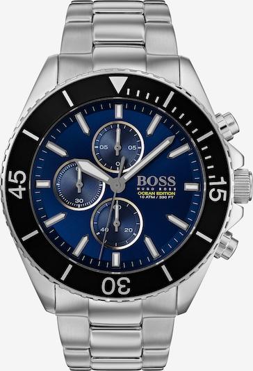 BOSS Uhr in dunkelblau / schwarz / silber, Produktansicht