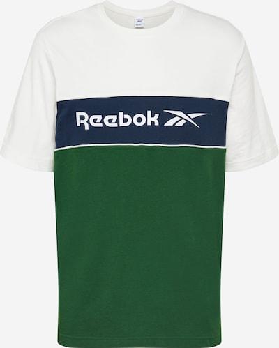 Reebok Classic T-Shirt in grün / weiß, Produktansicht