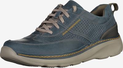 CLARKS Sportieve veterschoen in de kleur Blauw / Grijs, Productweergave