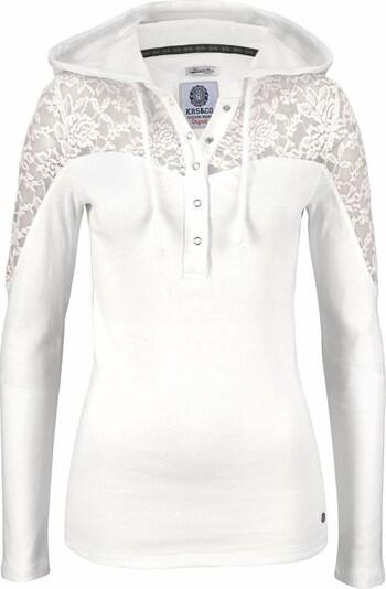 KangaROOS Kapuzenshirt in offwhite, Produktansicht