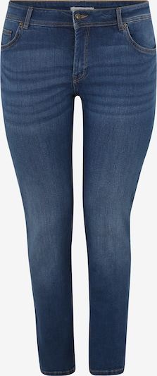 MY TRUE ME Kavbojke 'basic slim leg denim Denim Long 1/1 2' | moder denim barva, Prikaz izdelka