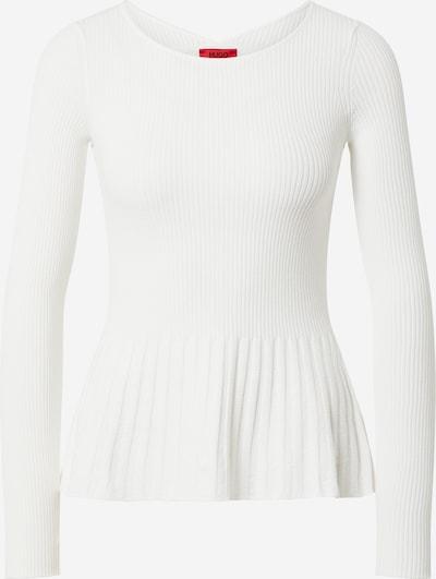 HUGO Pullover 'Seyash' in weiß, Produktansicht