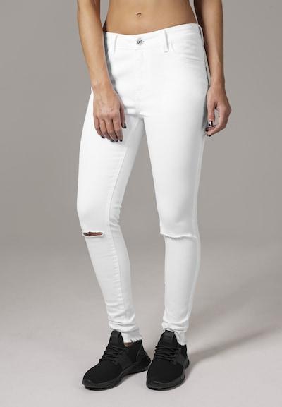 Urban Classics Jeans in weiß, Modelansicht