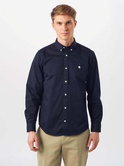 Carhartt WIP Košulja 'Madison' u mornarsko plava: Prednji pogled