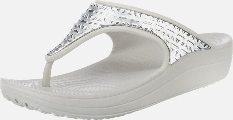 Crocs Sloane Graphic Etch Met Flip W Komfort-Pantoletten