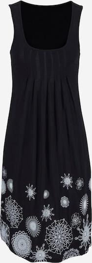 BEACH TIME Obleka za na plažo | črna / bela barva, Prikaz izdelka