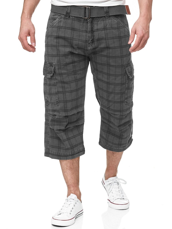 INDICODE JEANS 3/4 Shorts '70-175 Nicolas Check'