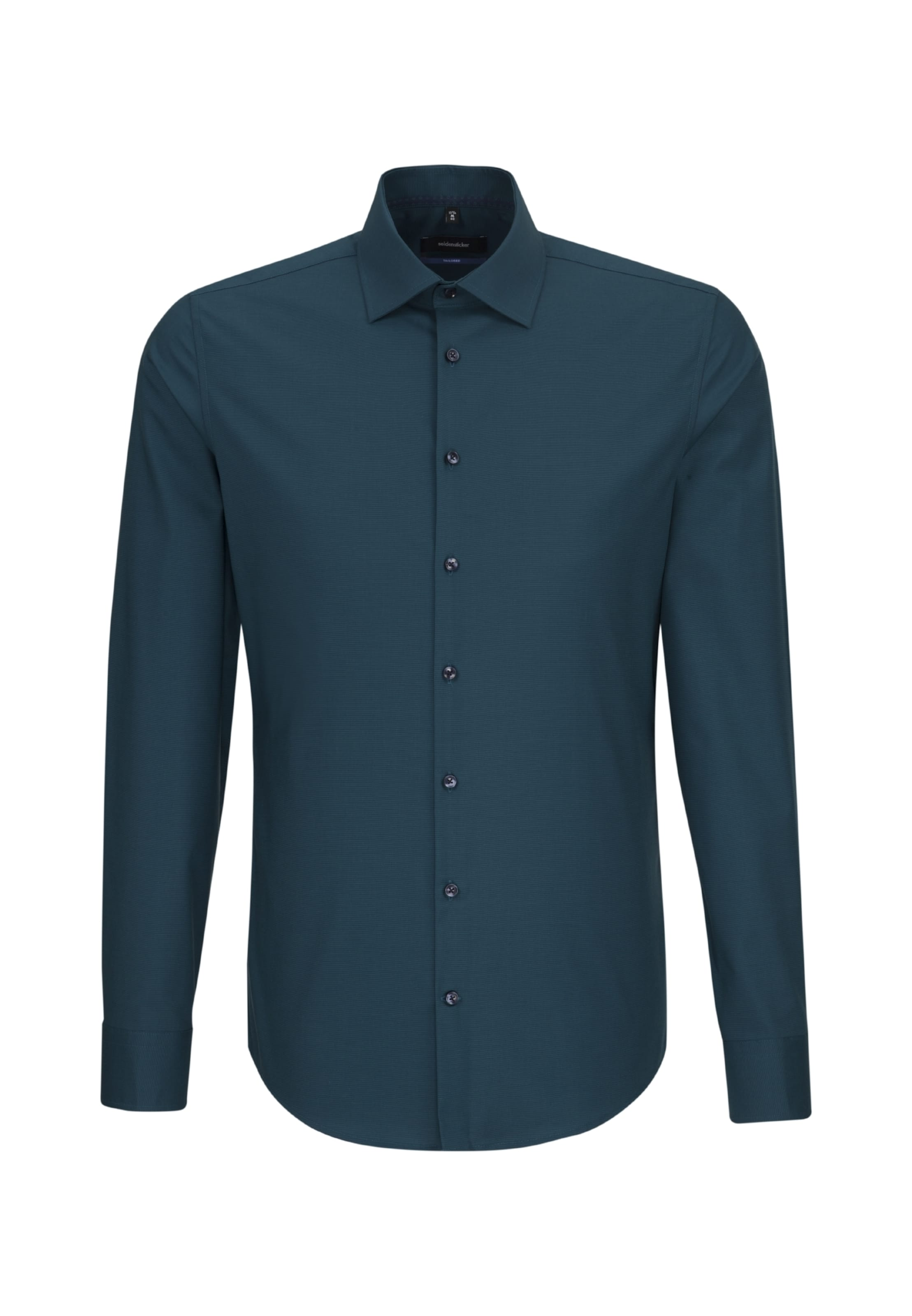 SEIDENSTICKER Hemd in petrol petrol petrol  Markenkleidung für Männer und Frauen d40271