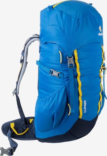 DEUTER Kletterrucksack 'Climber' in blau: Frontalansicht