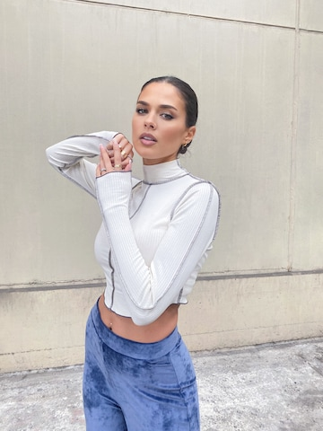 White Turtleneck Look by AY LIMITED x MIMOZA