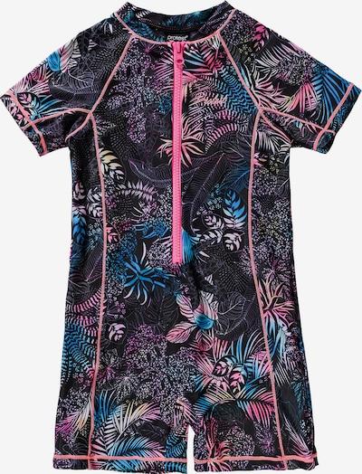 PROTEST Schwimmanzug in mischfarben / schwarz, Produktansicht