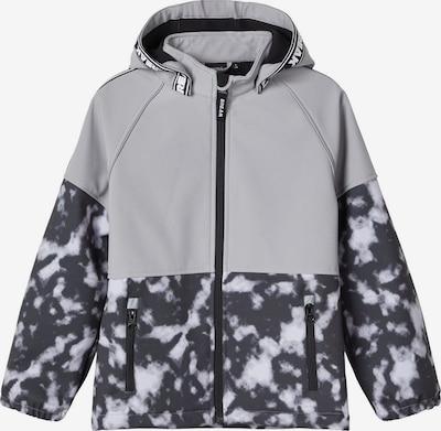 NAME IT Veste fonctionnelle en gris / mélange de couleurs, Vue avec produit