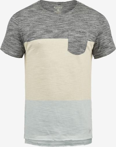 BLEND T-Shirt 'Johannes' in schwarz / schwarzmeliert, Produktansicht