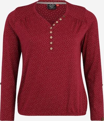 Ragwear Plus Shirt 'PINCH' in weinrot, Produktansicht
